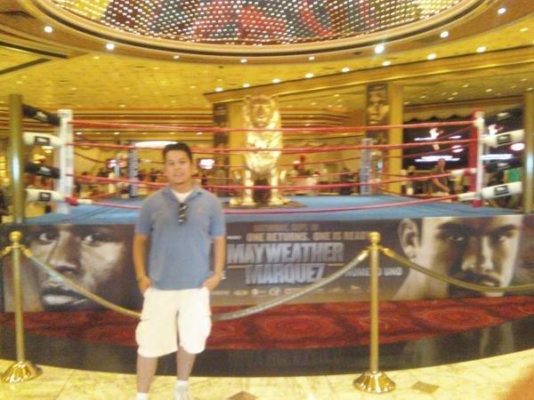MGM Lobby Center Ring